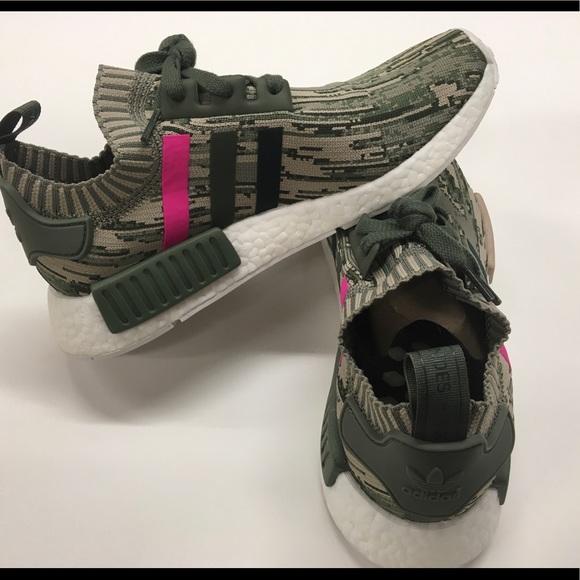 adidas Shoes   Adidas Nmd R Glitch Camo